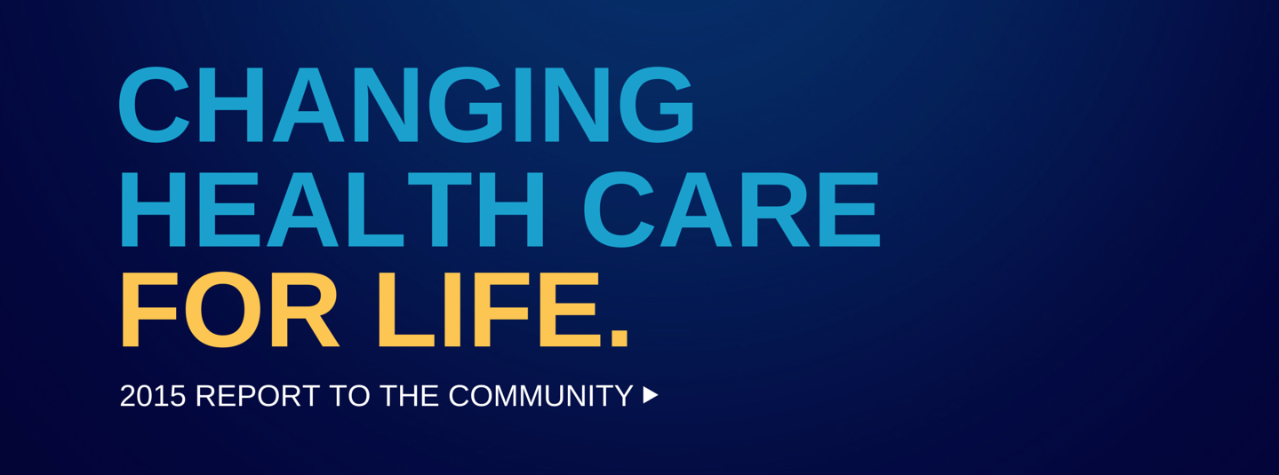 Changing Health Care for Life